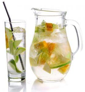 bere acqua